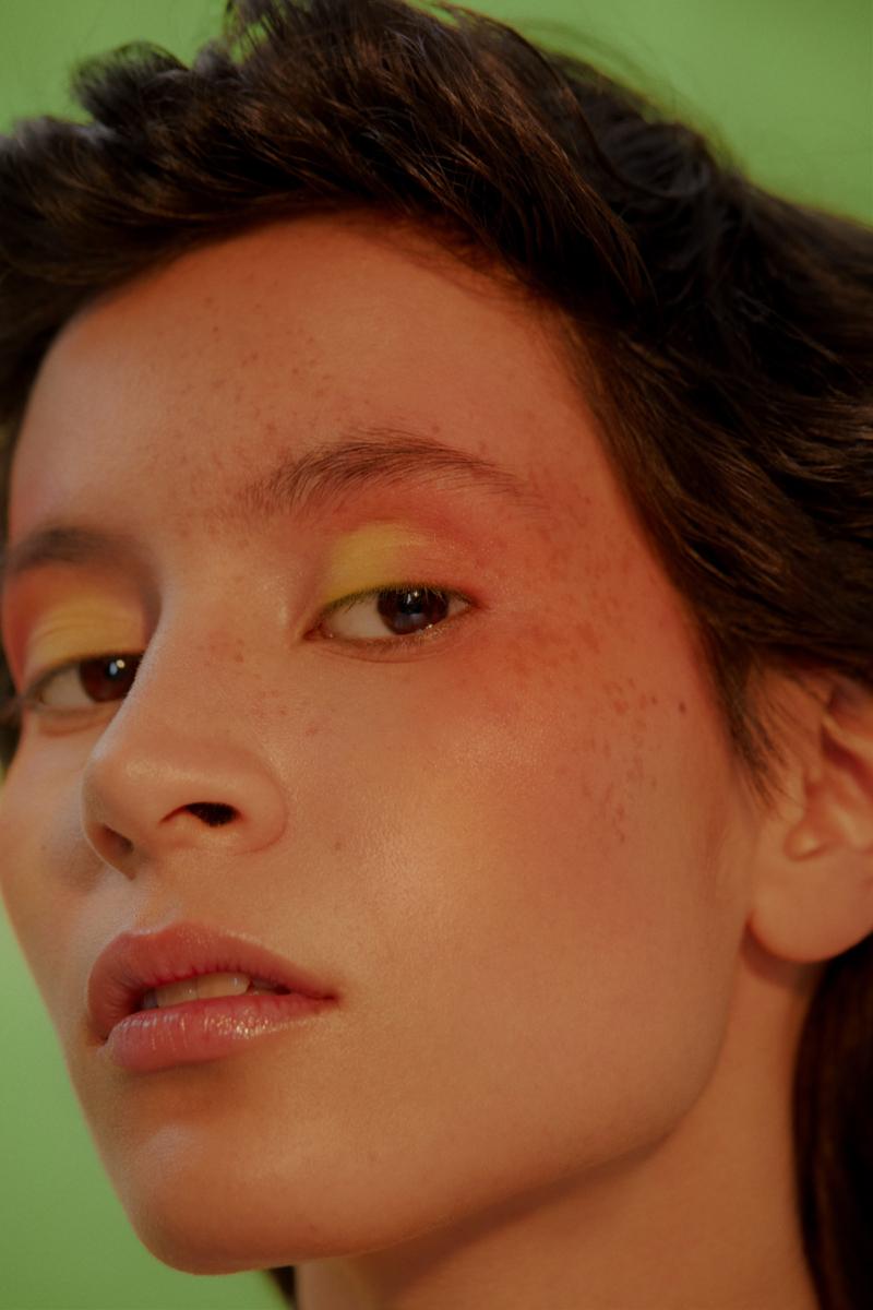 Neon Beauty Editorial Photography: Christine Polz Hair&Make-up: Tanja Schuster Model: Julia (@ Tigers) Styling: Julia Obermayer