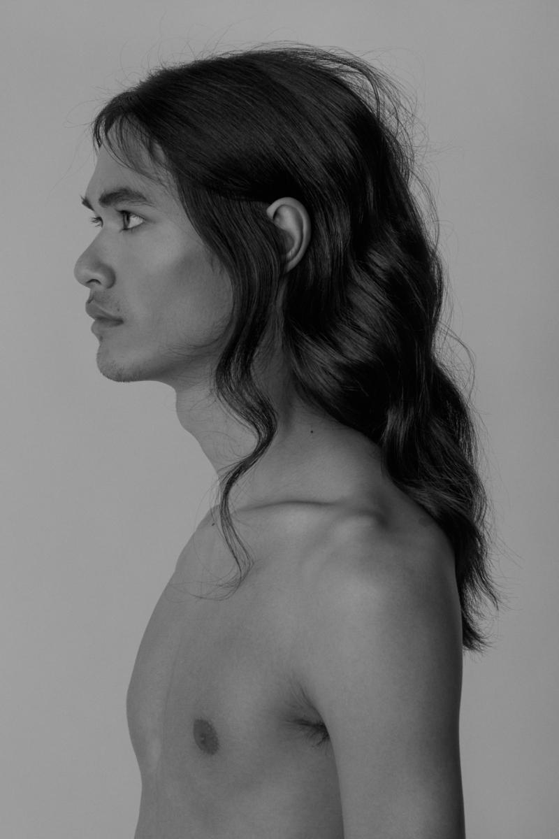 Male Hair Editorial Photography: Christine Polz Hair&Make-up: Michaela Kireta Model: Noah P. (@ Munich Models)