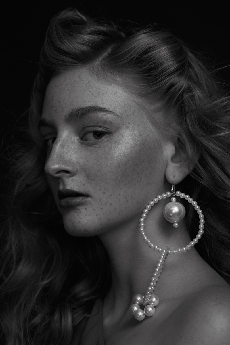 Pearls Beauty Editorial Photography: Christine Polz Hair&Make-up: Tanja Schuster Model: Lea T. (@ Most Wanted Models) Pearls: Saskia Diez