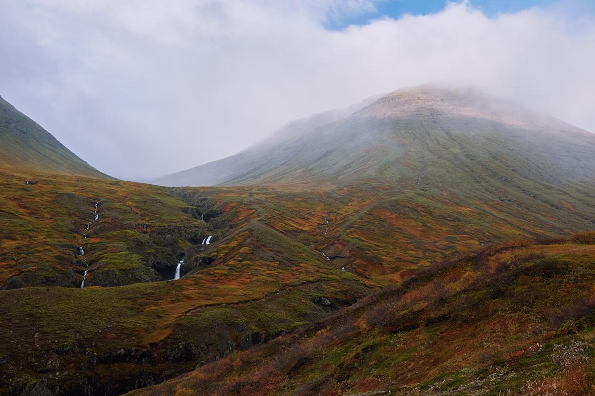 Island Herbst Roadtrip