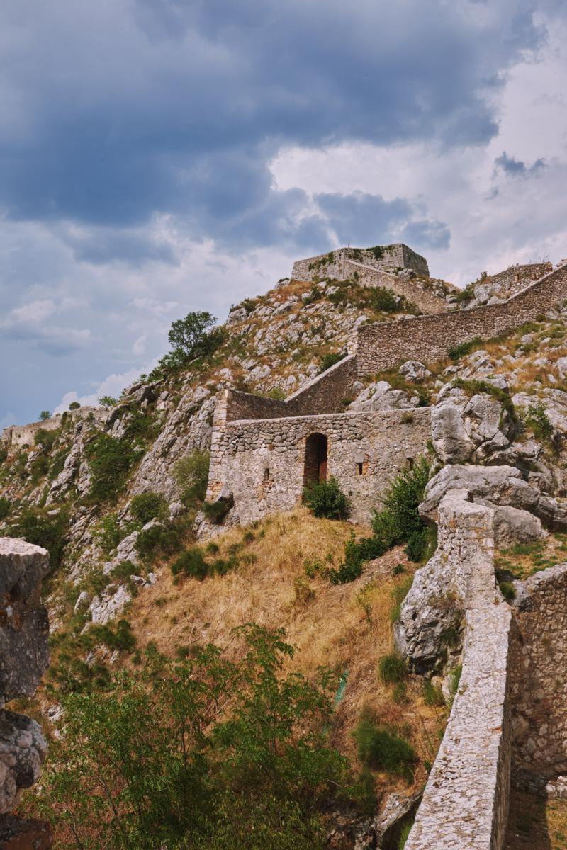 Kroatien Dinari Festung