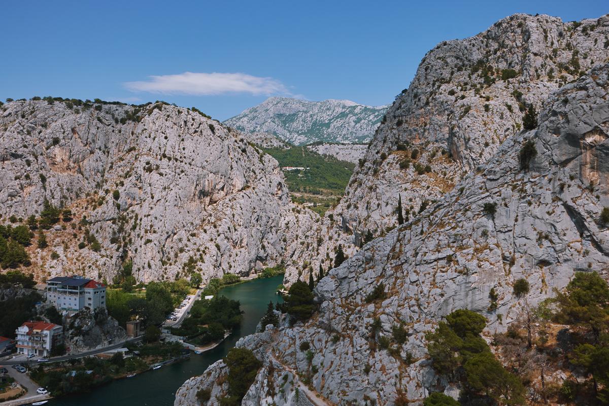 Kroatien Omis