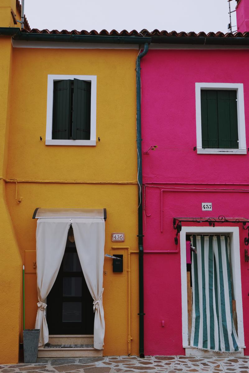 Venedig Burano Italien